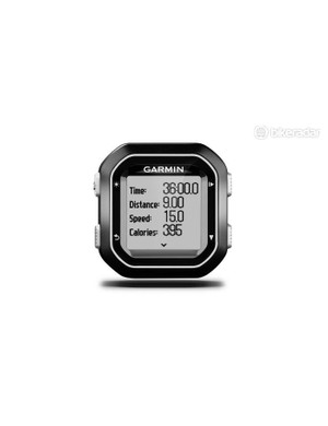 Garmin's minimally styled Edge 20 GPS computer gets on with the job unobtrusively