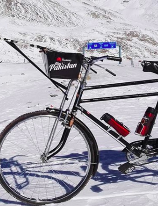 The Pakistan-made bicycle is the Sohrab Standard Roadster Double Bar 24