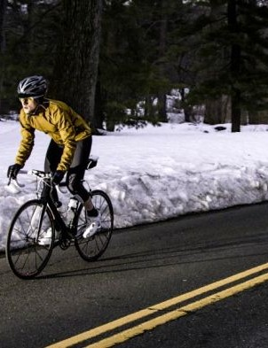 Layering up is the way forward for winter rides
