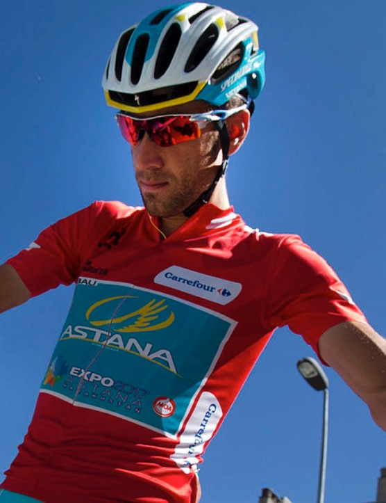 Astana's Vincenzo Nibali got disqualified from La Vuelta