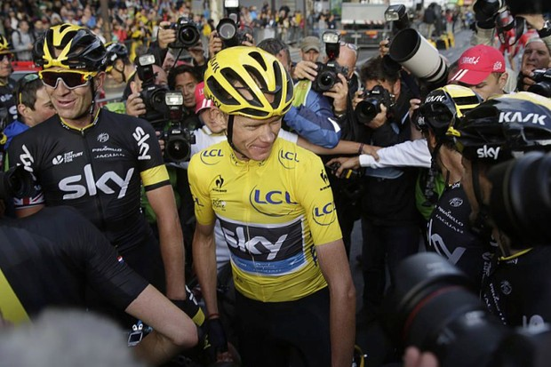 Chris Froome overcame myriad challenges to claim his second Tour de France