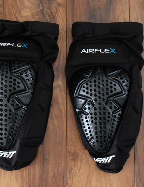 The Leatt Airflex Pro pads use the same ventilated soft armour as the minimalist 3DF Airflex pads