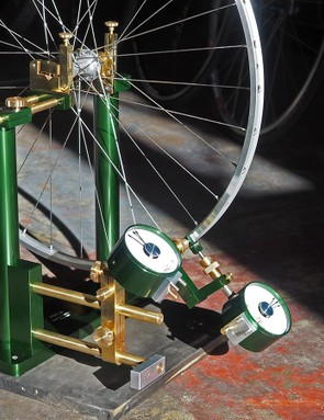 It's hard to believe but there's a good chance this P&K Lie Special250 wheel truing stand costs more than your bike