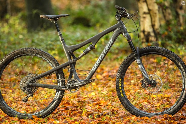 The Santa Cruz Bronson II C S AM now has the angles and rigidity to make the most of its up-and-at-'em nature
