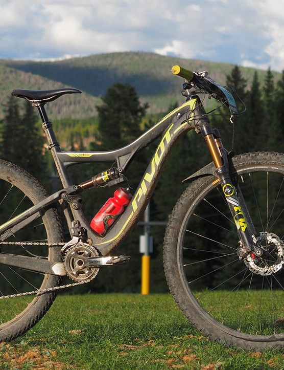 The Pivot Mach 429SL trail bike might not be everyone's first choice for a six-day mountain bike stage race that involves more than 30,000ft of climbing - until you remember that there's also 30,000ft of awesomely fun descending, too