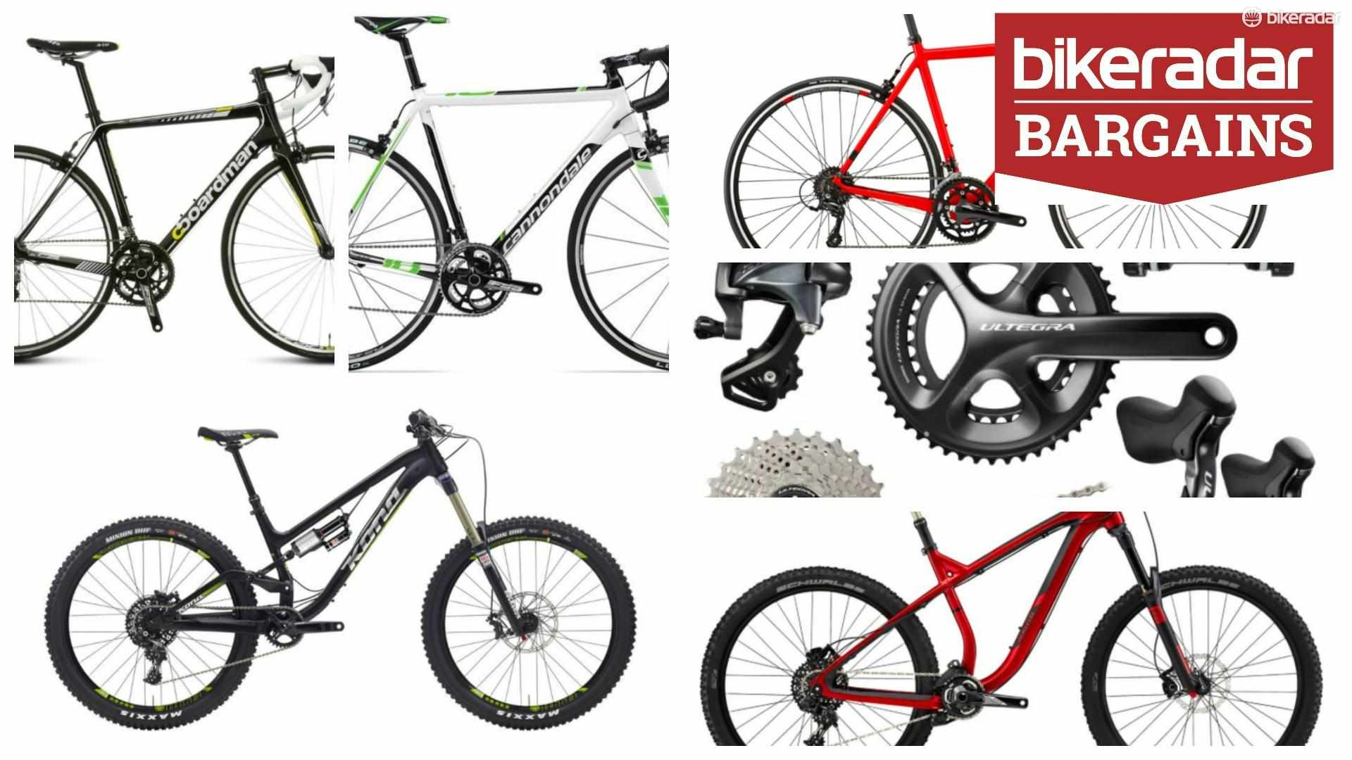 Bike bargains galore in the January sales