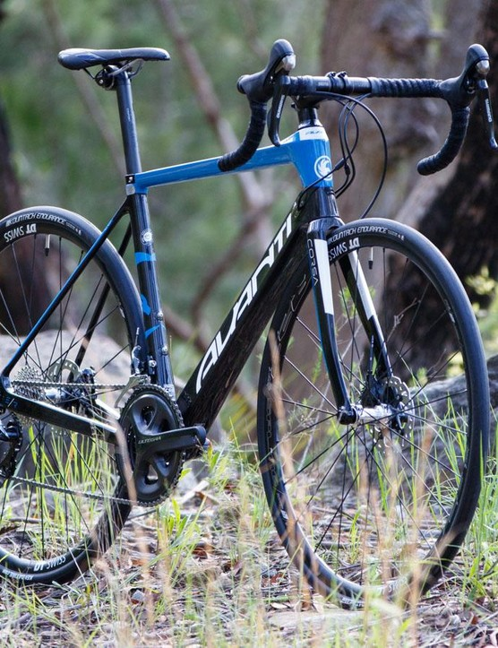 The 2016 Avanti Corsa ER 2 is said to be the New Zealand brand's most comfortable road bike yet