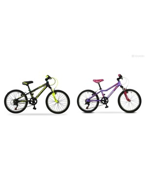 The Totem range includes balance bikes, 12, 16, 20 and 24in wheeled kids bikes