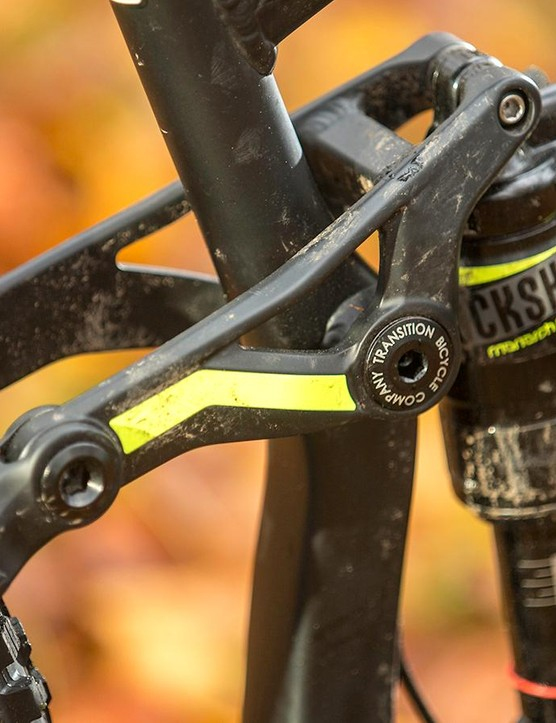 Transition is one of several brands to capitalise on the lapsing of Specialized's Horst link licence, and its 'Giddy Up' suspension is definitely the best pun yet!