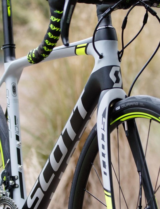 The Solace Disc offers clean lines with its internal cable routing
