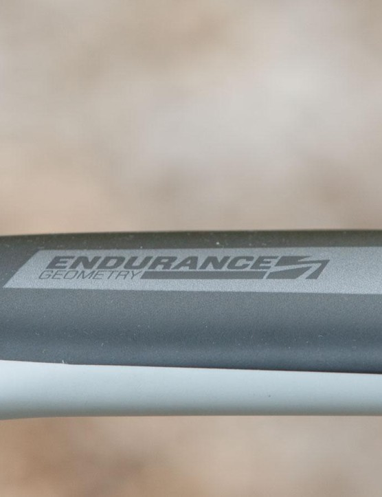 The Solace features Scott's Endurance geometry (although it's not all that different to its race bikes)