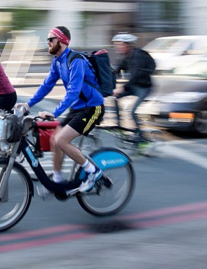 An influx of inexperienced cyclists in summer months meant that near misses rise again later in summer