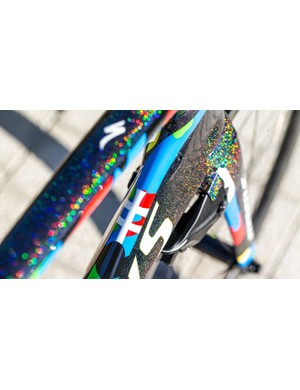 The Slovakian rider has always had his own style. Now he has a unique world champ paint scheme to match