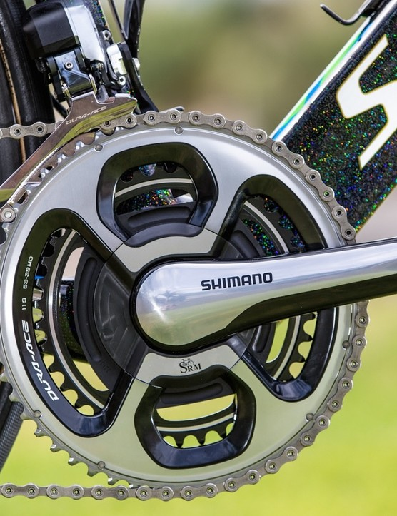 Tinkoff is on Shimano and SRM for 2016