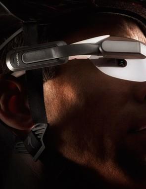Garmin Varia Vision clips onto most sunglasses