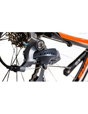 Shimano Claris is an unrefined but solid choice