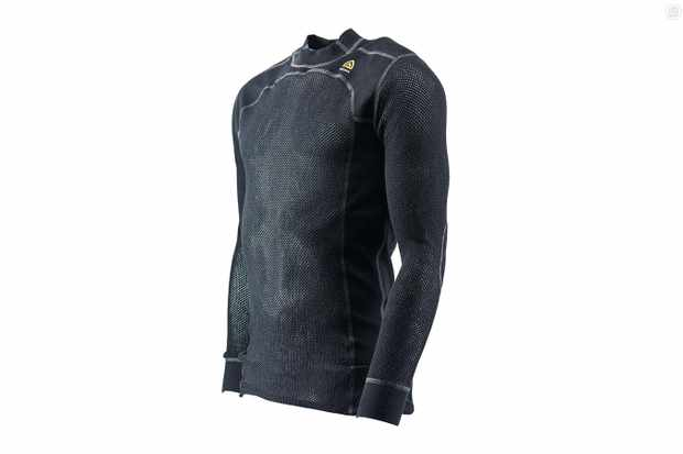 Aclima's WoolNet Crew Neck may not win any style prizes, but it's a highly effective base layer