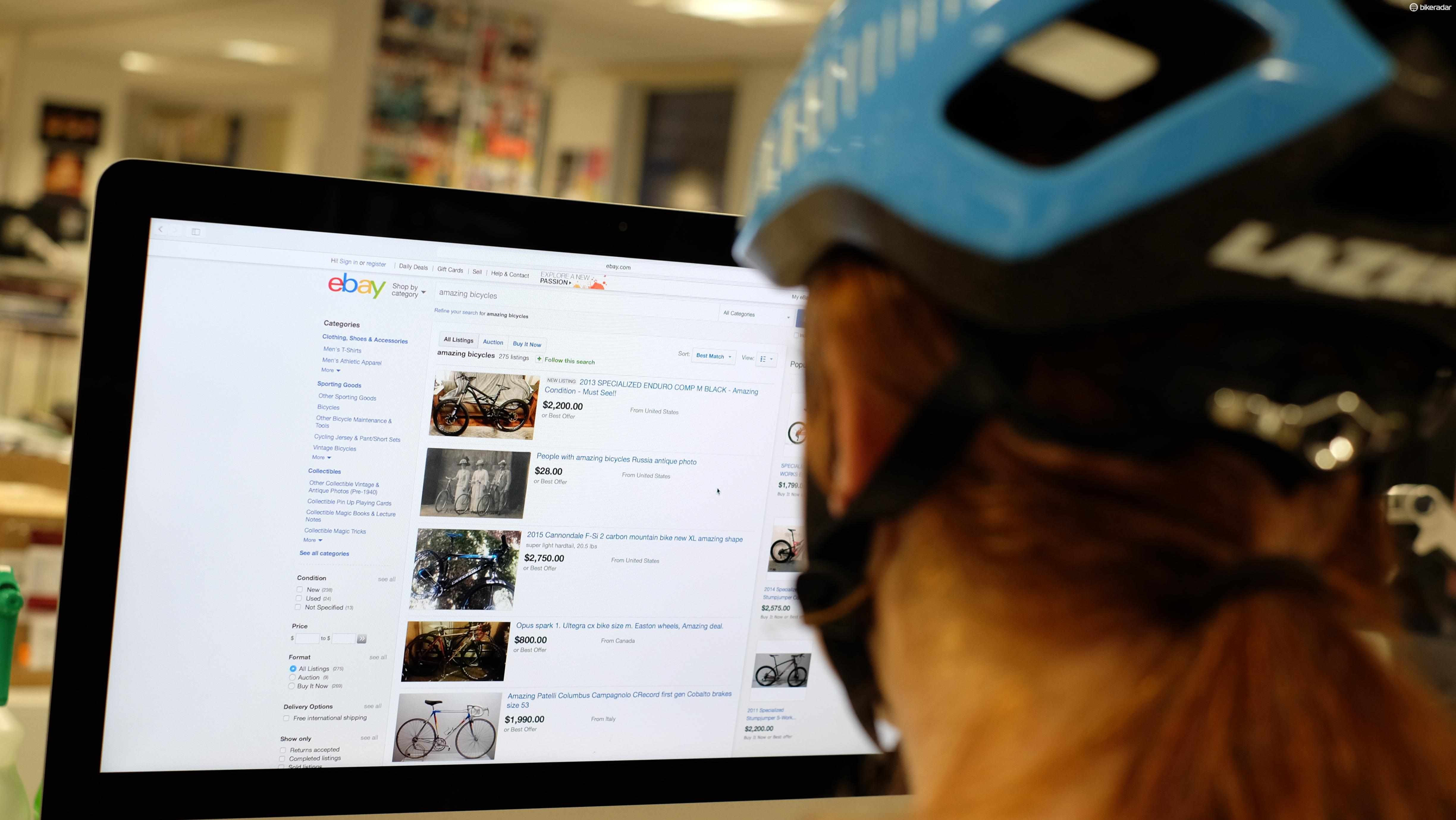 Thinking of buying a bike on eBay? Read our tips first