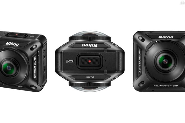 Nikon jons the action camera game with the KeyMission 360