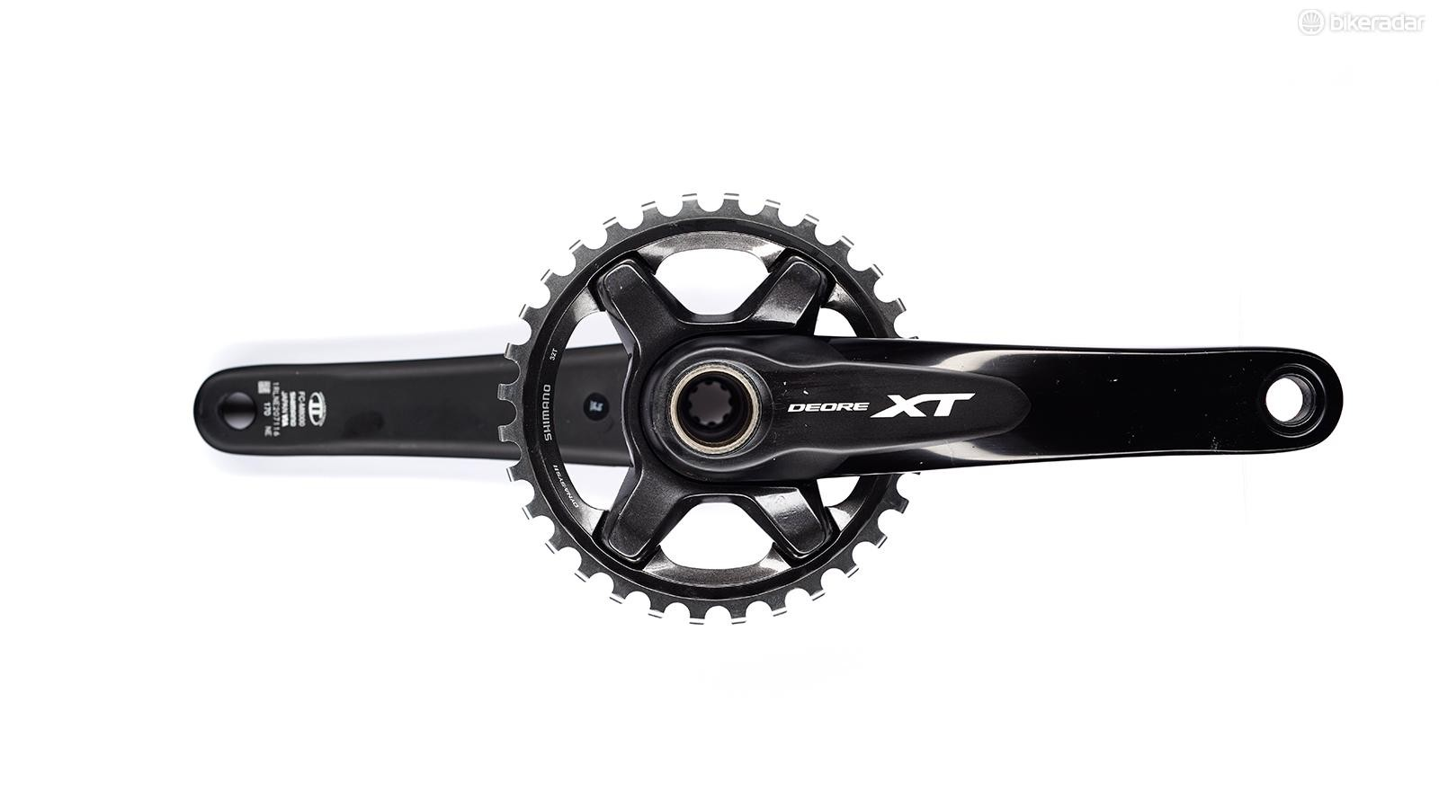 Shimano XT 8000 crankset: won't look like this for long