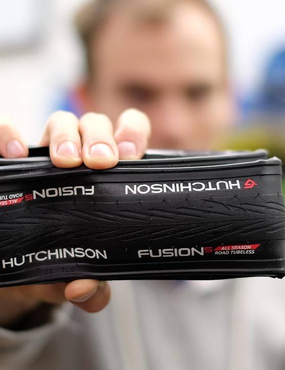 Hutchinson Fusion tubeless tires