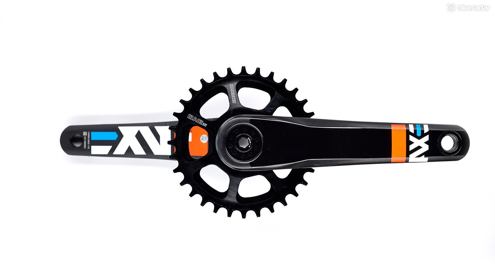 DMR's Axe crankset blew away our testers
