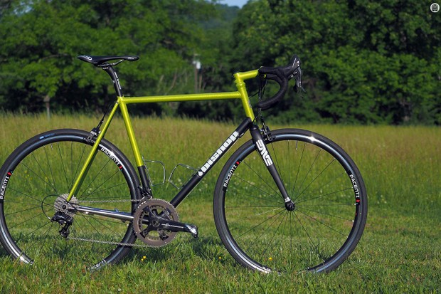 Chris Bishop is one of the finest steel bicycle frame builders in the world. Ever wondered what he'd build for himself? Here's your answer