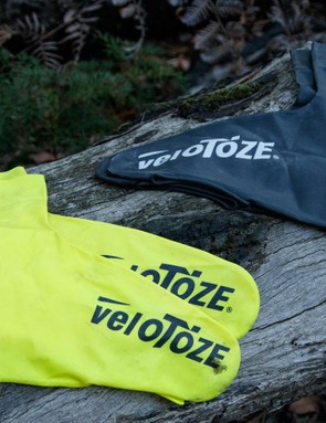 veloToze are latex rubber shoe covers that are wind and waterproof