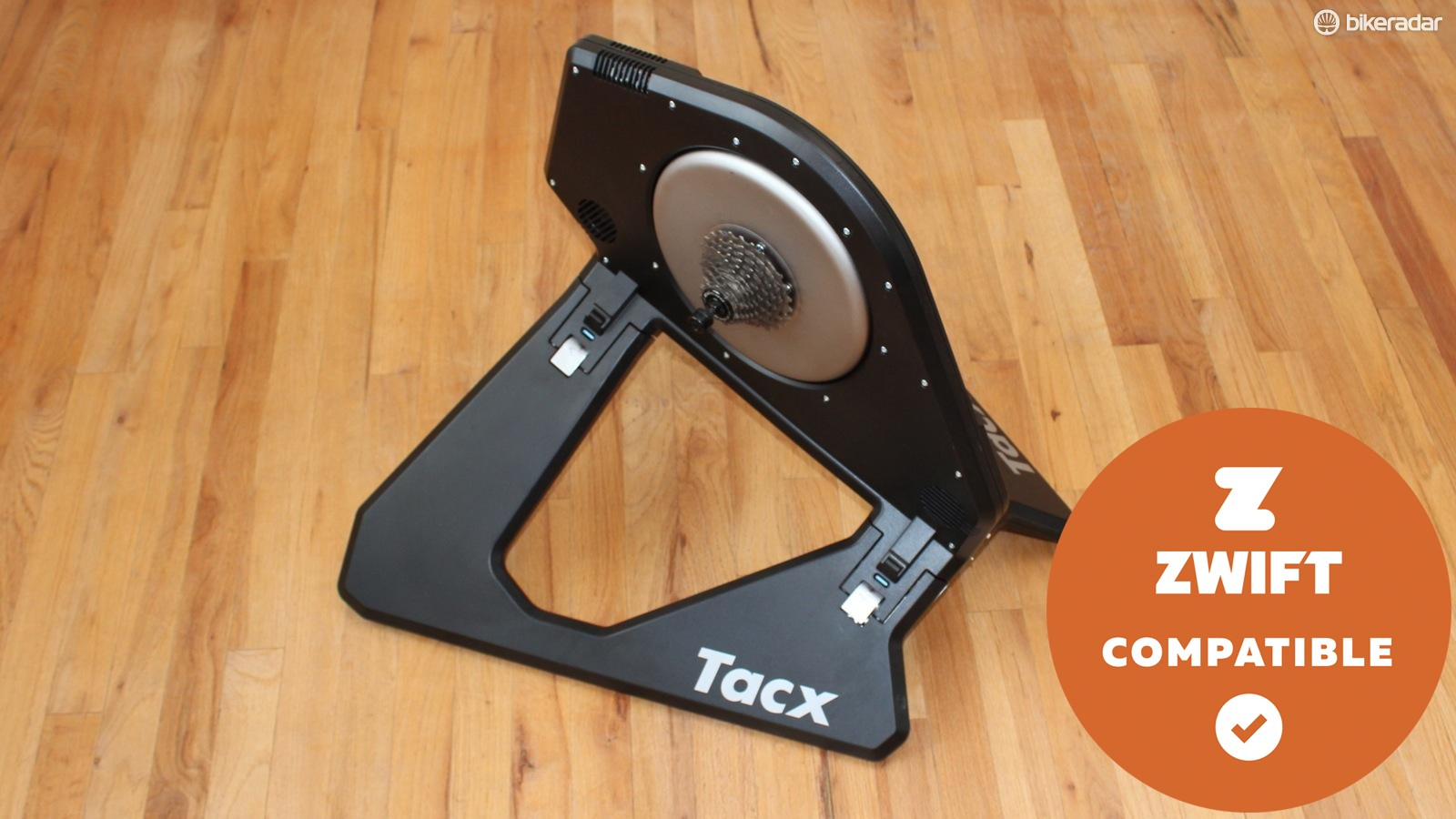 The Tacx Neo provides a smooth, engaging ride