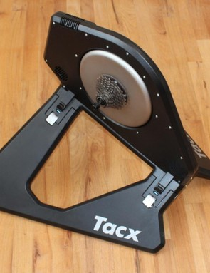 The Tacx Neo Smart provides a smooth, quiet ride with resistance that's controllable by a variety of apps. Unusually for a smart trainer, you can also use it unplugged