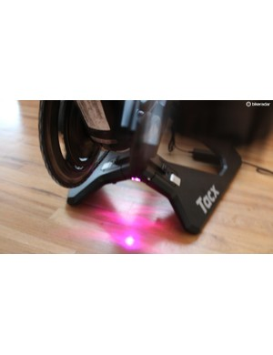 Pedal harder and the lights change. What exactly is the point of this? We're not sure