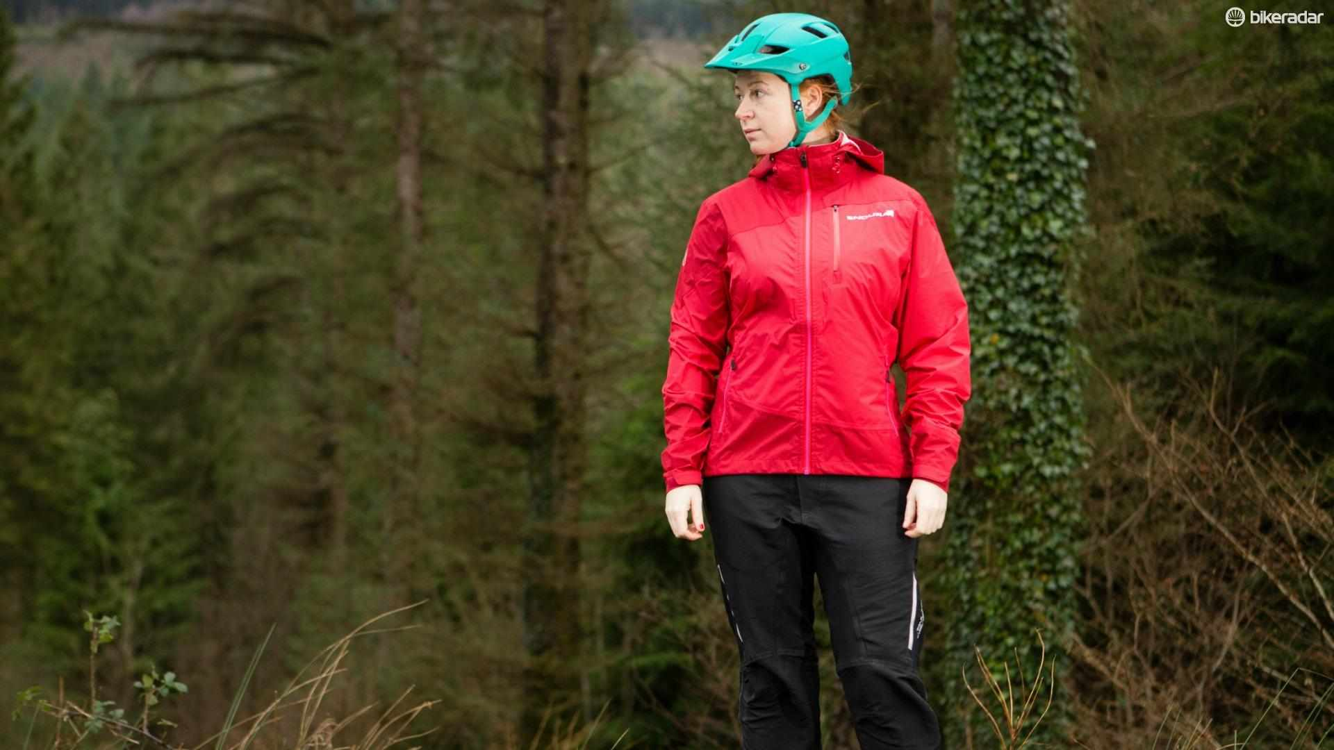 The Endura women's mountain bike range includes waterproof jacket, shorts and accessories