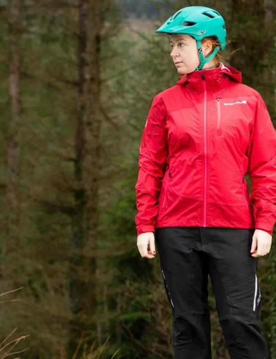The Endura women's mountain bike range includes waterproof jacket, shorts and accessories