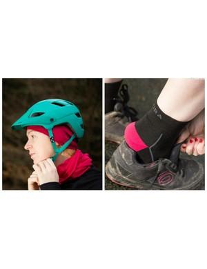 The Endura Baabaa gift set includes a merino knit hat, neck warmer and socks