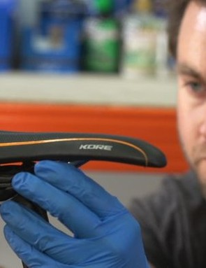 Make sure your saddle is fitted tightly, and set at a flattish angle