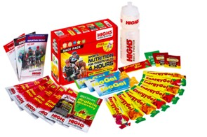 High5 Race Pack provides energy and nutrition products enough for a four-hour mountain bike or road race