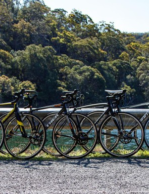 Six entry-level alloy road bikes, all with Shimano Sora gearing, all from major international brands were tested back-to-back