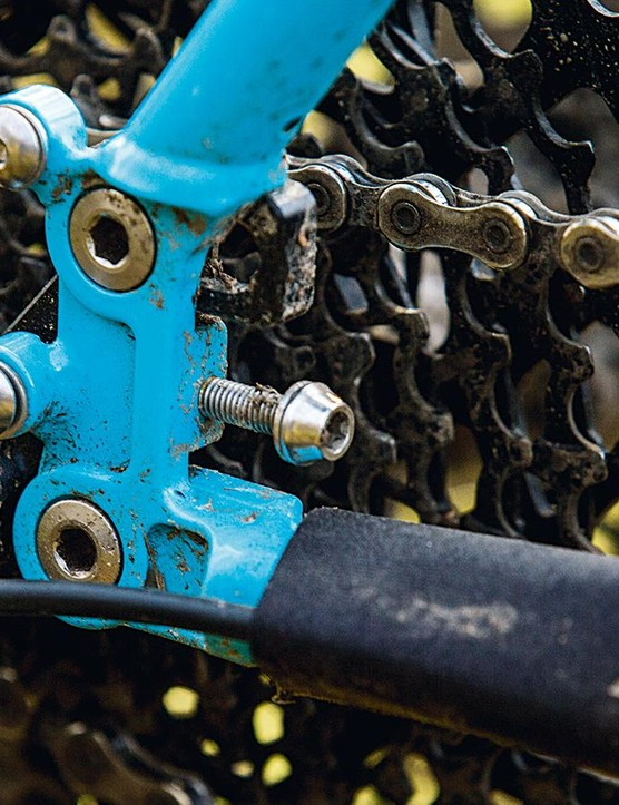 Adjustable dropouts give singlespeed capability