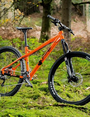 The Orange Crush is aptly named. This bike demands to be ridden brutally