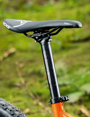 The price-conscious rigid post could be upgraded to a dropper