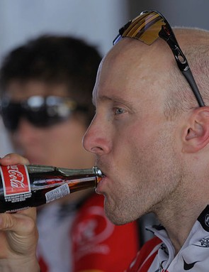 Flat coke can help raise blood sugar levels and fuel muscle contractions