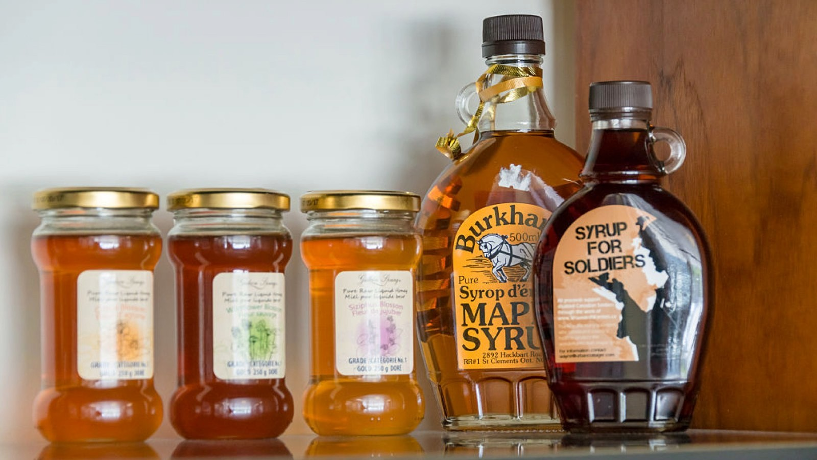 Maple syrup has lots of minerals and electrolytes in it