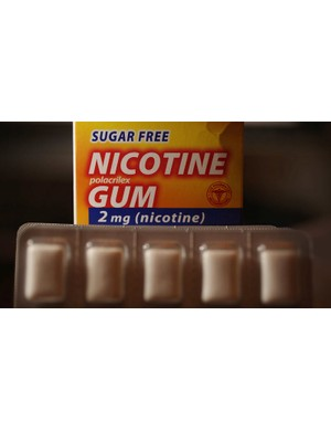 Nicotine patches can trigger the release of dopamine