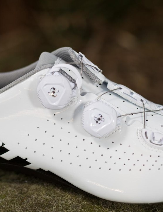 The Road RC shoes aren't the best looking in the bunch, but form rarely outweighs function
