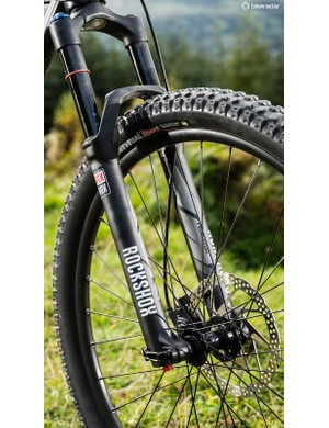 The Jackpot is capable enough to give the 150mm Revelation fork a good seeing to