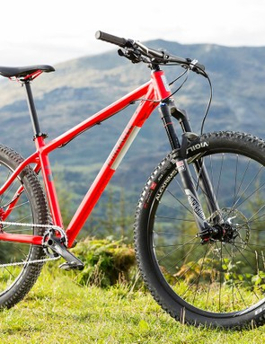 Pinnacle's Iroko 3 may not be a high-fashion bike, but it's a superb advert for alloy hardtails