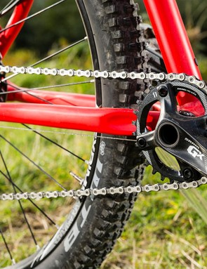 A full SRAM GX group delivers positive shifting