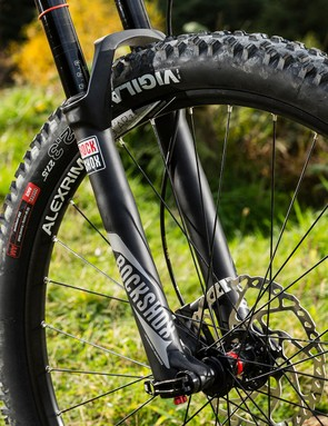 The 120mm-travel RockShox Revelation is a very capable fork