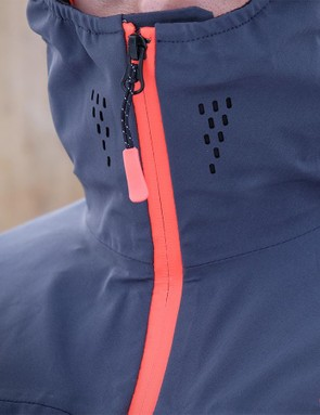 Perforations on the collar are designed to keep moisture build up to a minimum