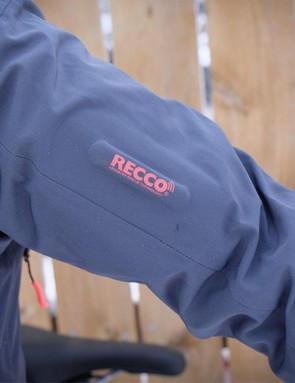 The RECCO system functions as a passive avalanche beacon, allowing first responders with RECCO detectors to locate the wearer
